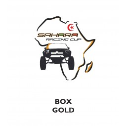 BOX GOLD SAHARA RACING
